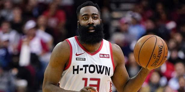 """Punteggio di """"armi nucleari"""" James Harden vince il campione del punteggio NBA 2020"""