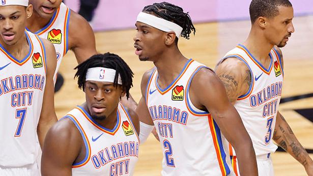 maglie nba Oklahoma City Thunder